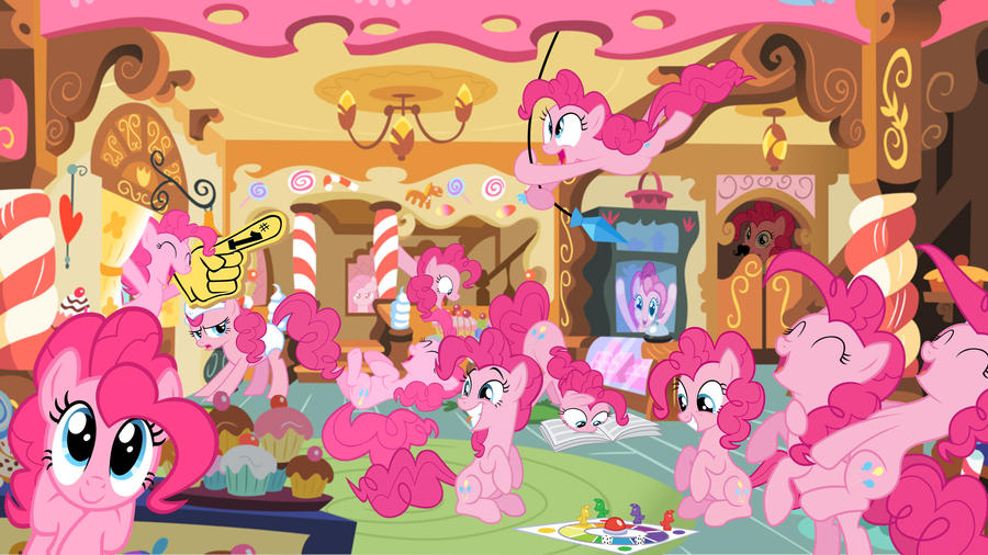 Request: Pinkie Party by Macgrubor