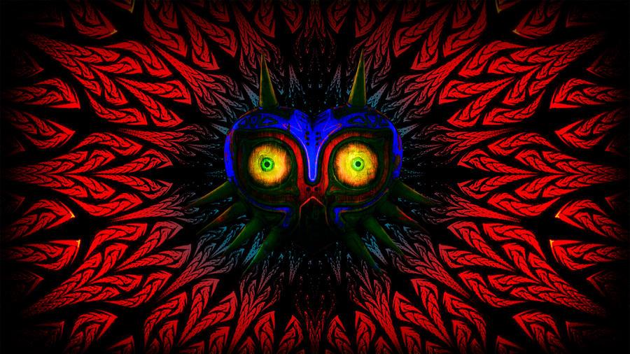 Majoras Mask Wallpaper By Mr Kennedy92