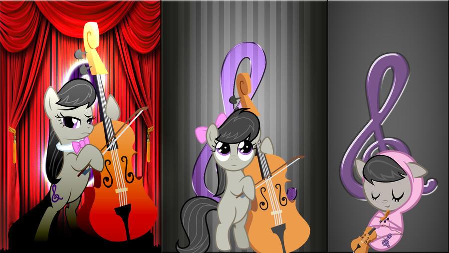 3 Octavia's by Macgrubor