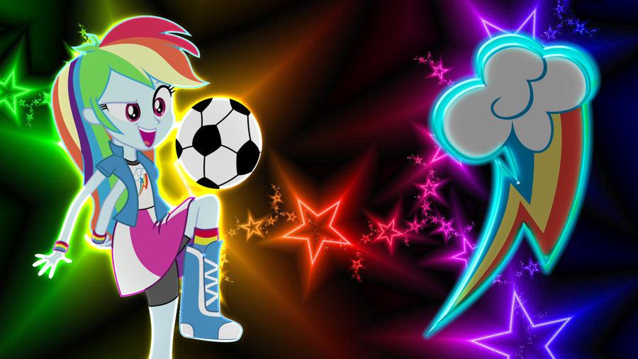Equestria Girls Rainbow Dash Wallpaper by MrKennedy92 on DeviantArt