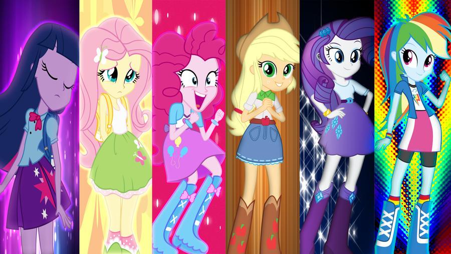 Equestria Girls Mane 6