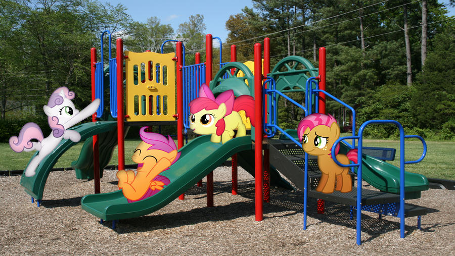 cmc_on_the_playground_by_macgrubor-d6i7d