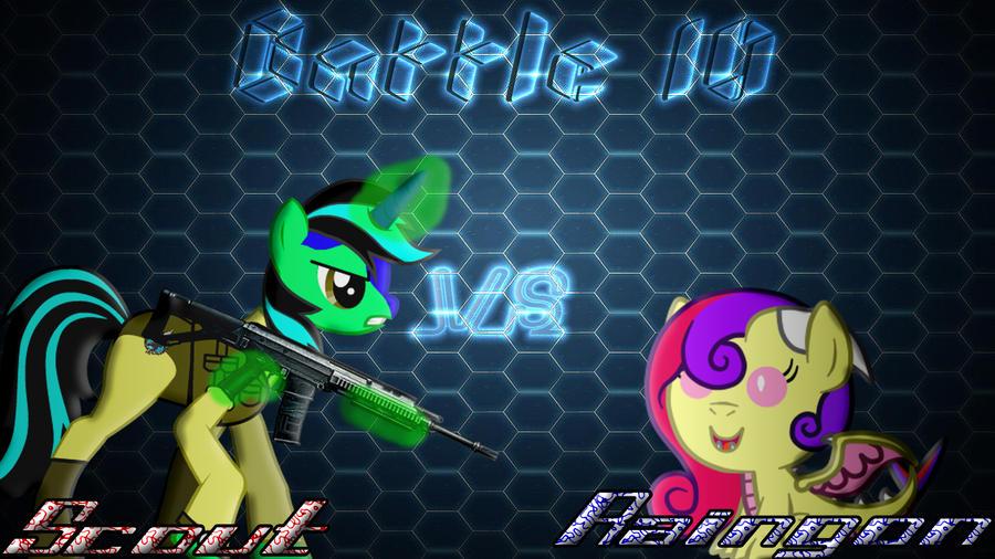 Pony Kombat New Blood 4 Round 1, Battle 10 by Macgrubor
