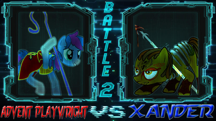 Pony Kombat New Blood 4 Round 3, Battle 2 by Macgrubor