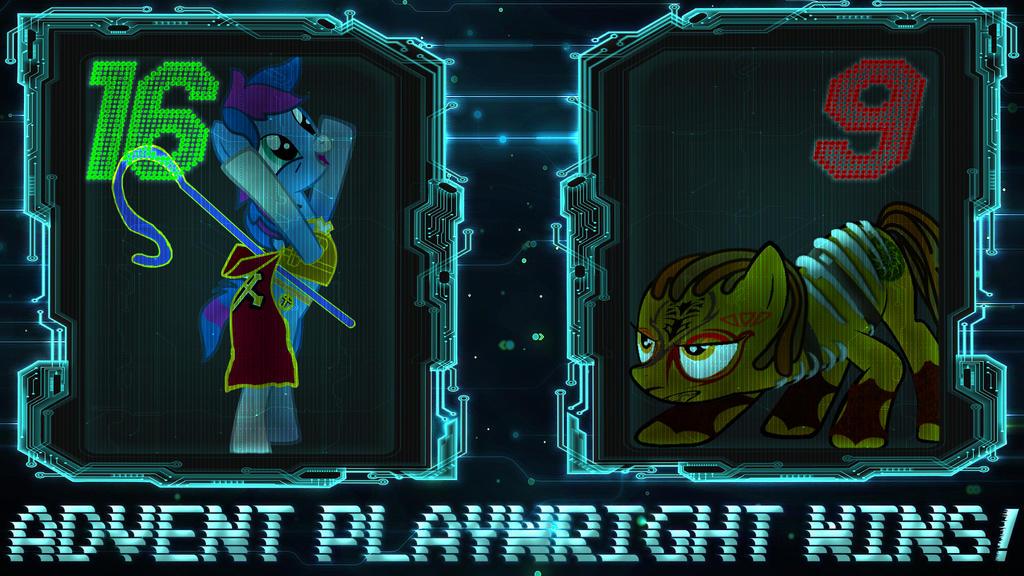 Pony Kombat New Blood 4 Round 3, Battle 2 Result by Macgrubor