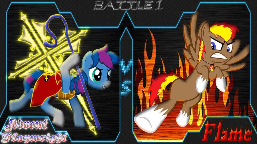 Pony Kombat New Blood 4 Round 4, Battle 1 by Macgrubor