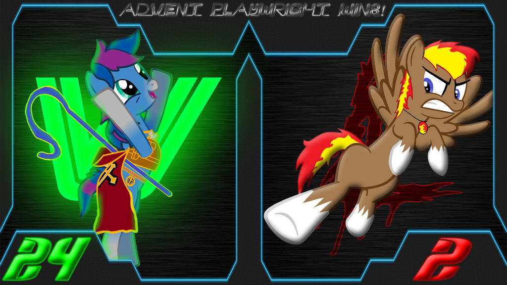 Pony Kombat New Blood 4 Round 4, Battle 1 Result by Macgrubor