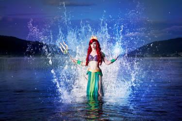 Ariel the Warrior Mermaid #09 by Phobos-Cosplay