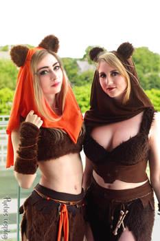 Ewoks cosplay