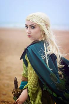Warhammer's Wood Elf cosplay