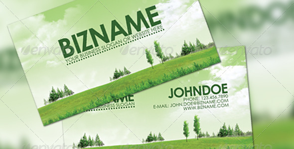 Green business card by arphotography design on deviantart green business card by arphotography design reheart Images