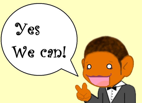 Yes we can by foxybabie1989 on deviantart for Bett yes we can
