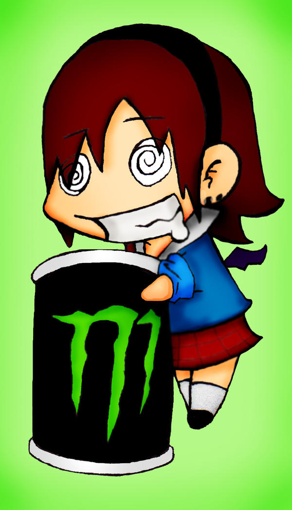 Monster addict by foxybabie1989