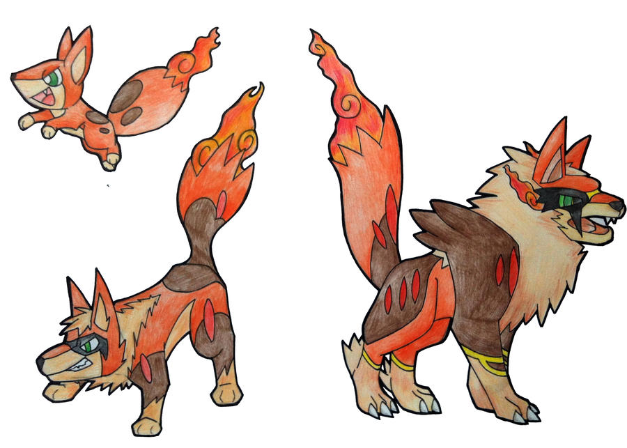 Newii Region Fire Starters By BoomBlast On DeviantArt