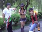 Nico Robin, Zoro, Luffy Cosplay