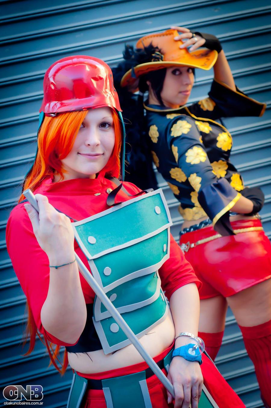 One Piece Film Z Girls 4 by As-Naye