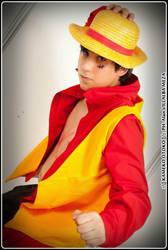Monkey D. Luffy - One Piece Film Z by As-Naye
