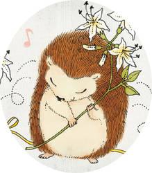 Sweet little hedgehog by yeevon