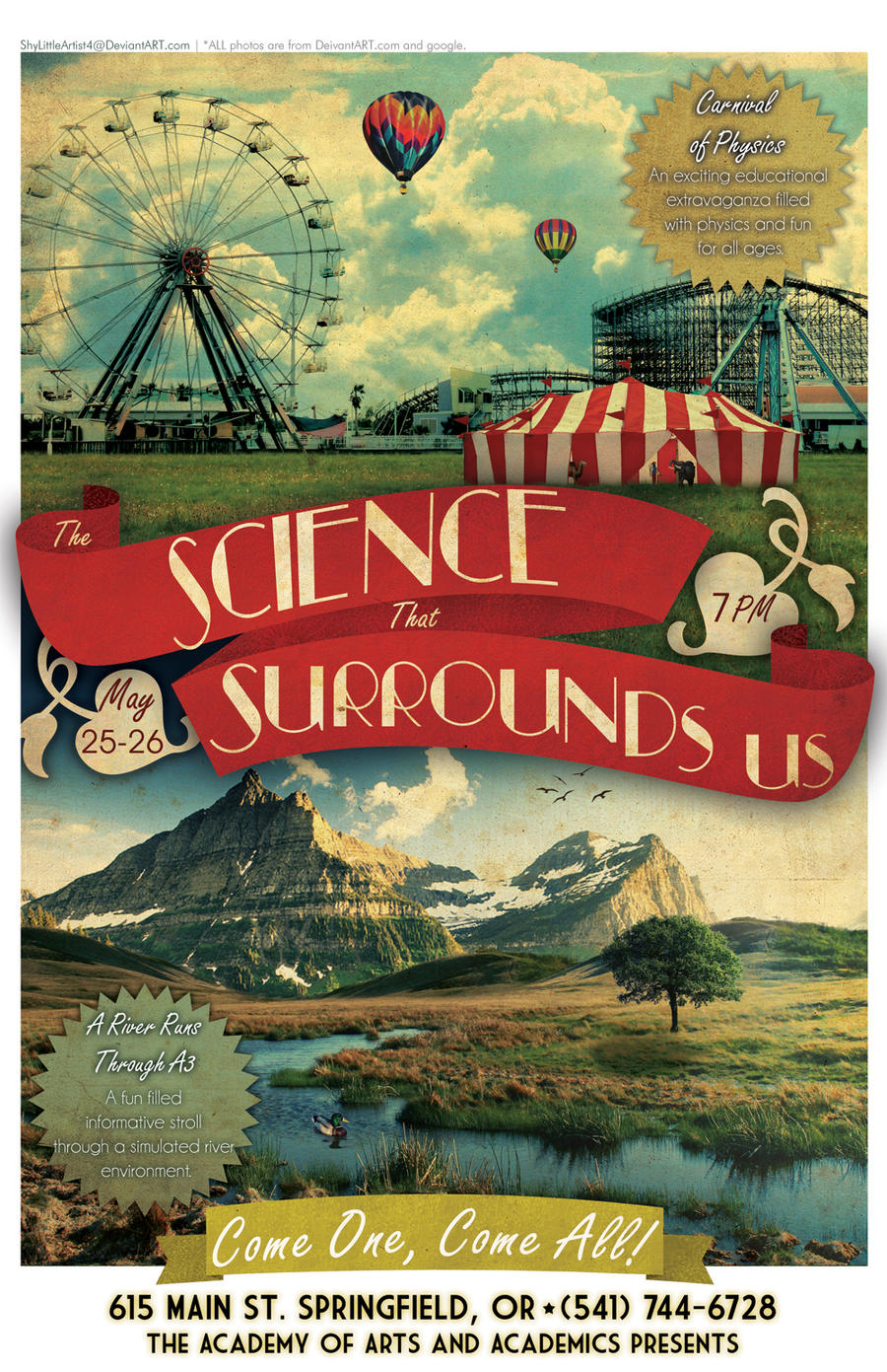 The Science That Surrounds Us