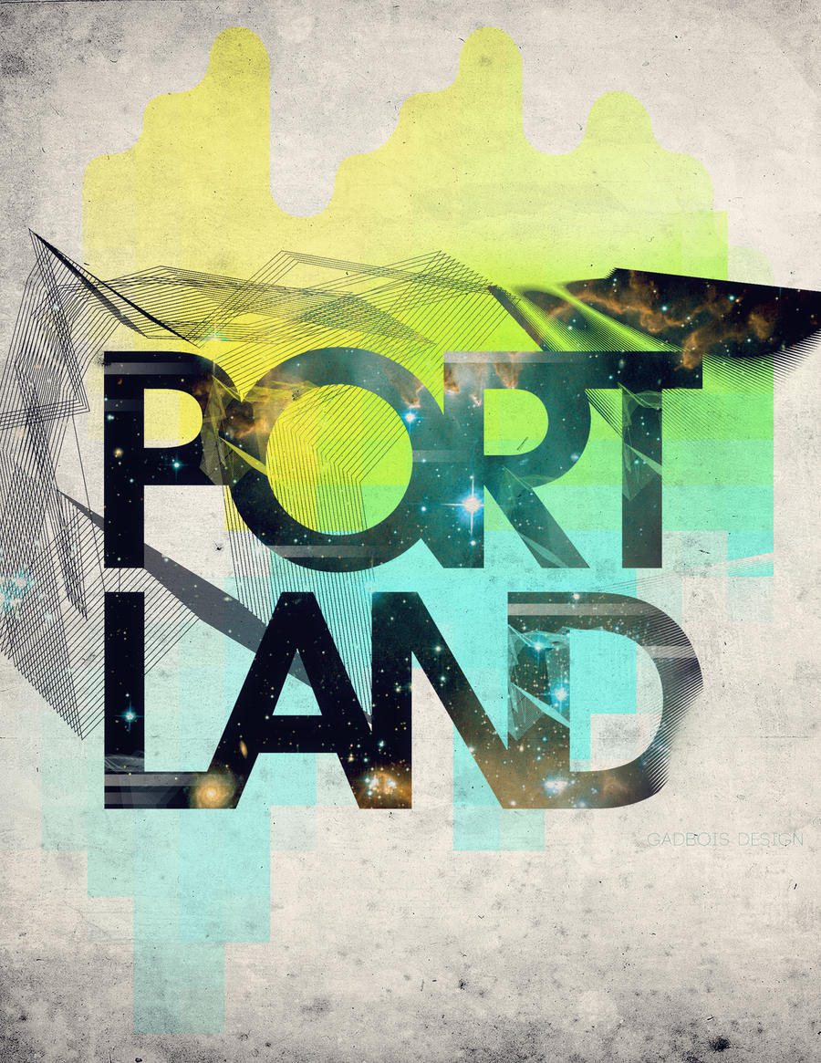 Portland by ShyLittleArtist4