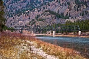 Rail Bridge II, Sanders County, Montana by quintmckown