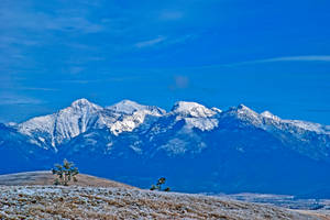 The Mission Mountains in December by quintmckown
