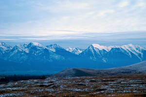 The Mission Mountains in December II by quintmckown