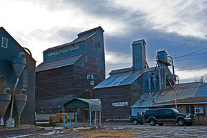 General Feed and Grain, Bonner's Ferry, Idaho, USA