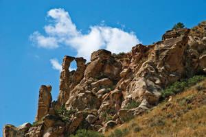 Deer Medicine Rocks, Rosebud County, Montana, USA by quintmckown