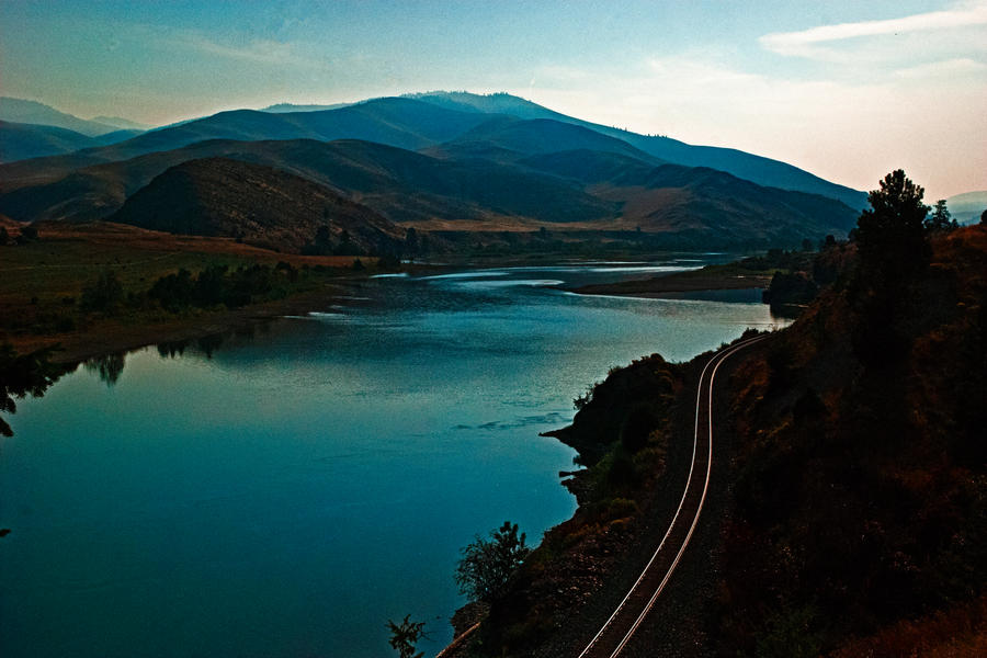 The Flathead River by quintmckown