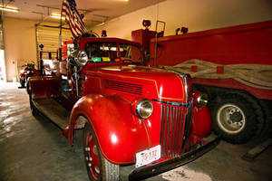 1941 ? Ford American LaFrance Fire Truck by quintmckown