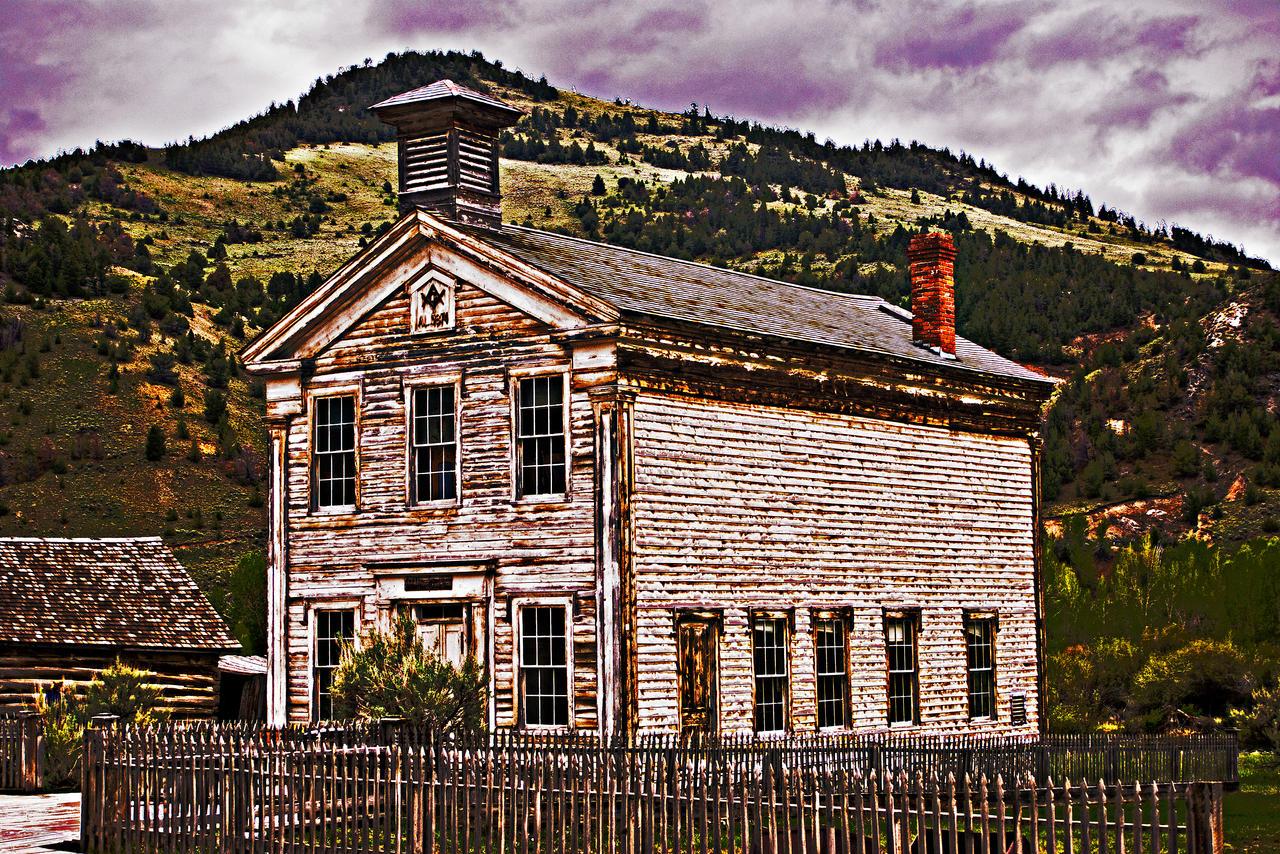 Bannack in June--Masonic Hall by quintmckown
