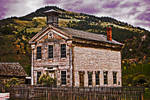 Bannack in June--Masonic Hall by quintmckown