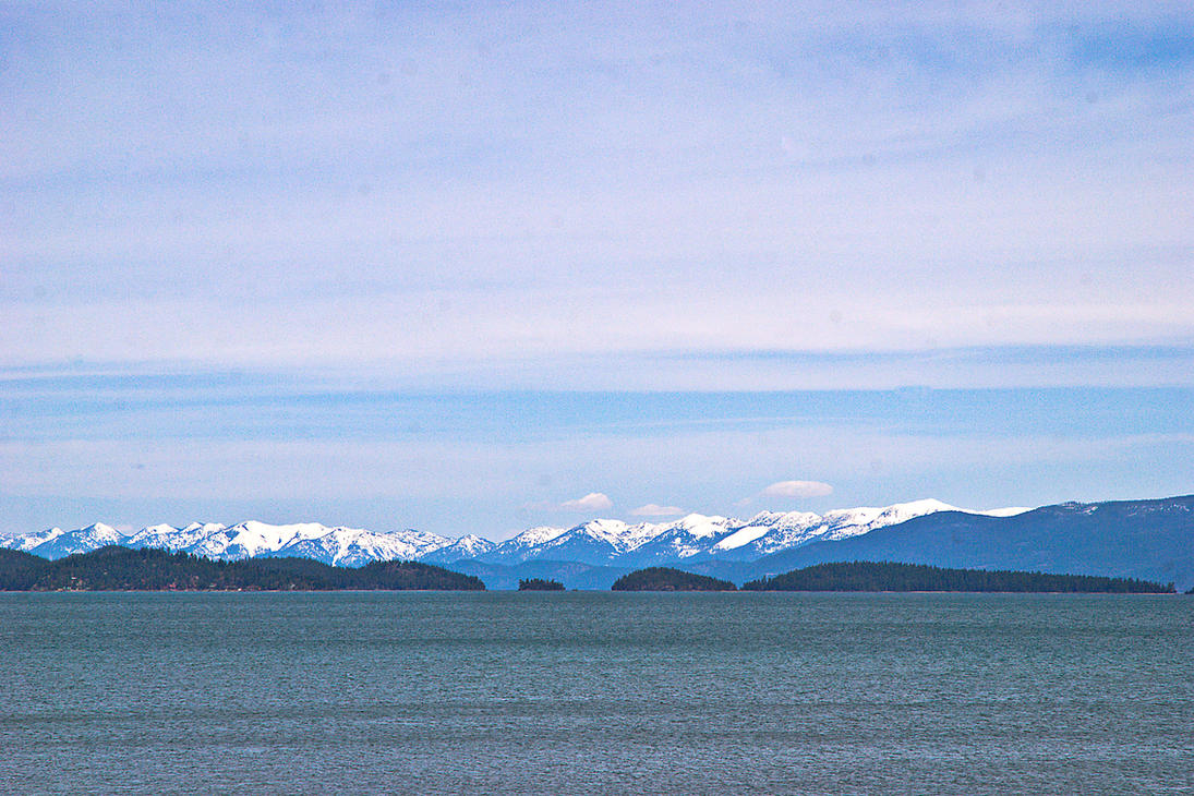 Big Sky, Big Lake, Big Mountains by quintmckown