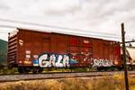 Graffiti on the tracks by quintmckown