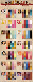 Princess Color Reference