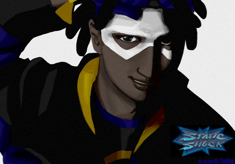 Static Shock- Virgil by tsukiko
