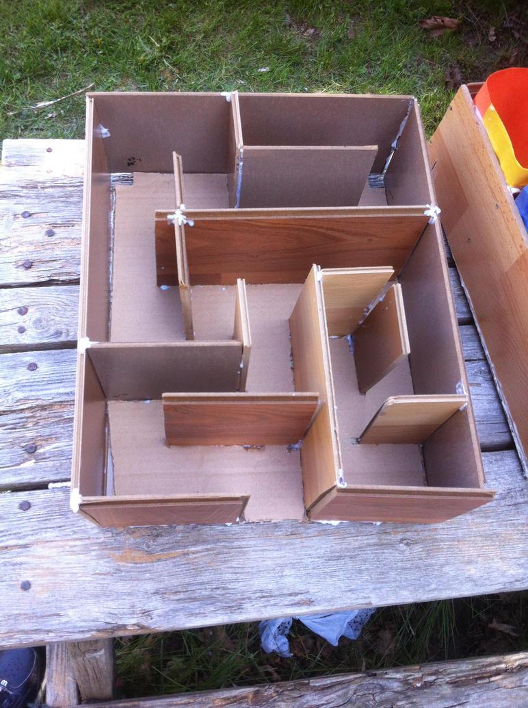 ferret house maze by soulterror101