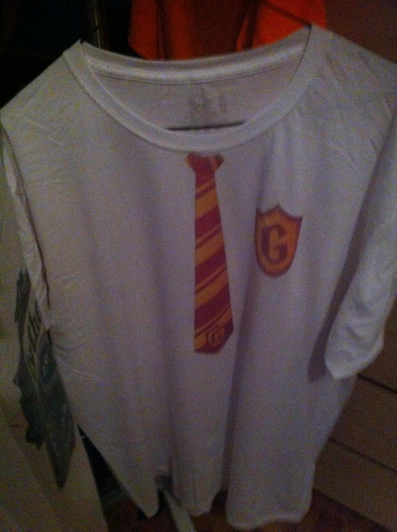 gryffindor tee front by soulterror101