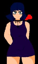 goth girl or something lol