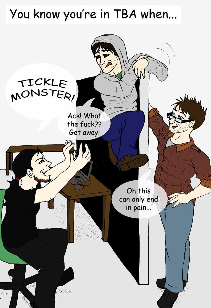 The Tickle Monster by jjferrit