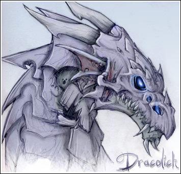 Dracolich by Kraken-Steelklaw