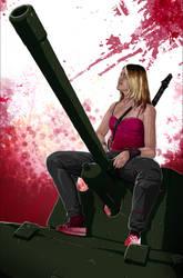 a Tank Girl