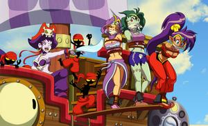 Shantae's Risky Situation