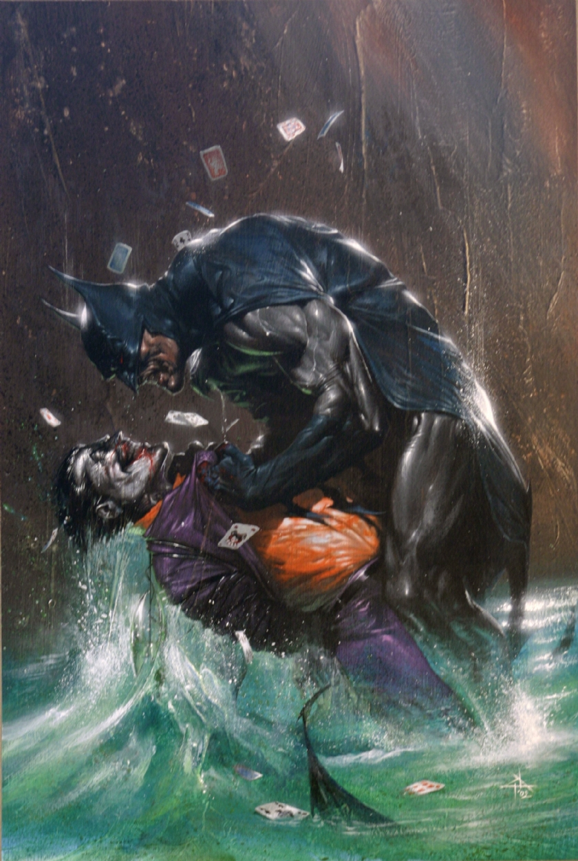the batman vs joker
