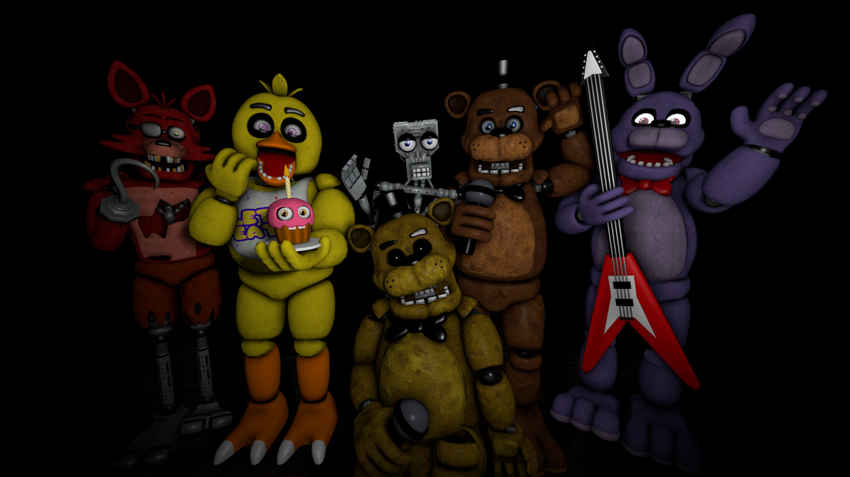 Happy nd anniversary five nights at freddy s by kittenlover
