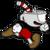 Cuphead - Cuphead Running Icon