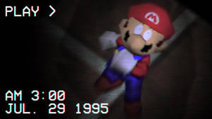 Every copy of Mario 64 is personalized.
