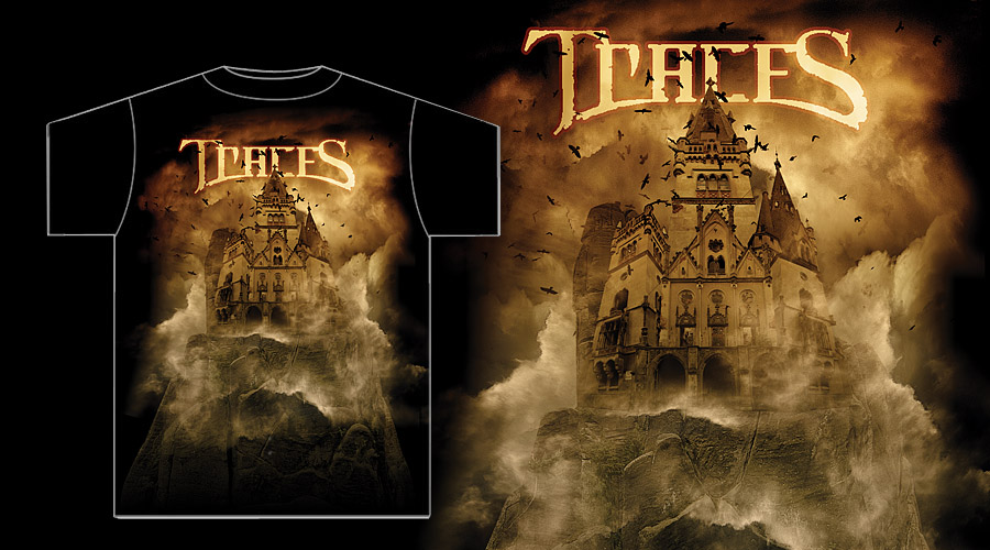 Traces - Castle Shirt by damnengine