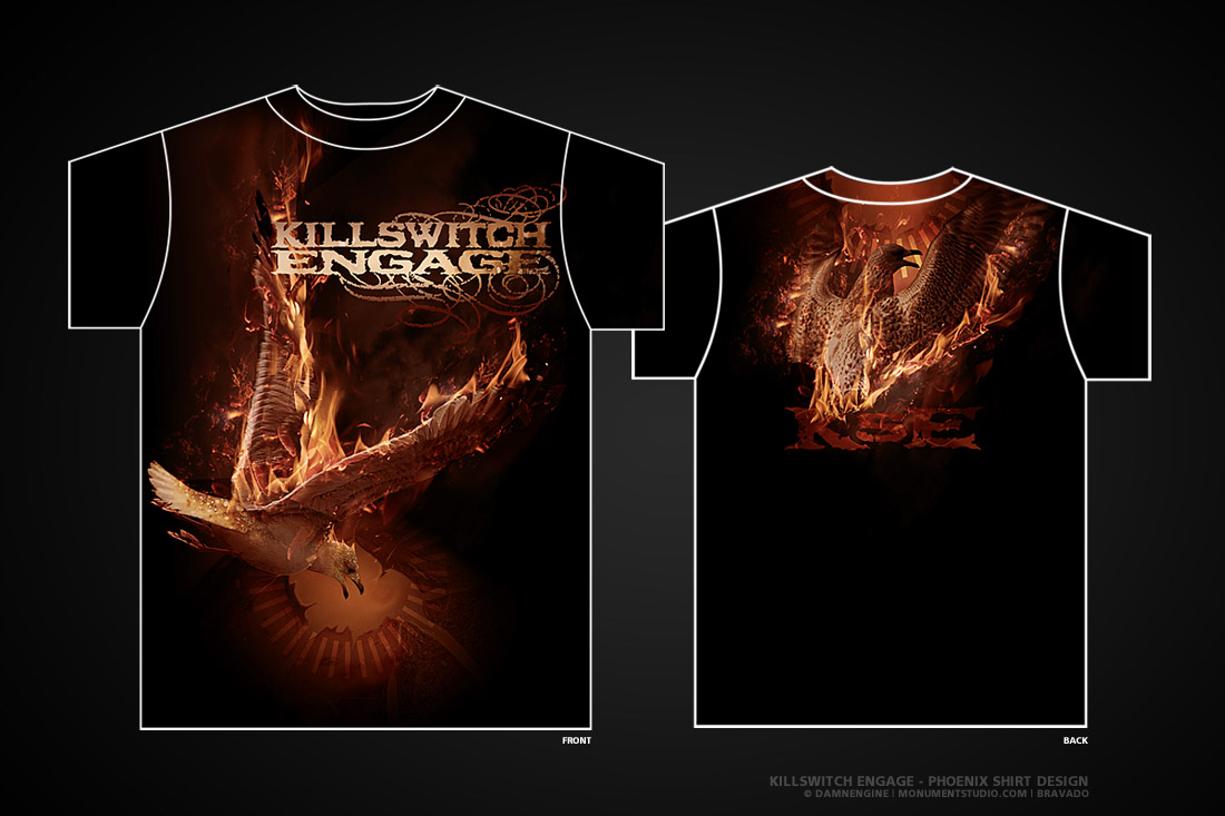 Killswitch Engage - Phoenix by damnengine